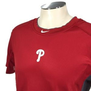 Philadelphia Phillies Nike Pro Combat Fitted Shirt